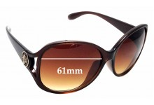 Sunglass Fix Sunglass Replacement Lenses for Marc By Marc Jacobs MMJ 208/K/S - 61mm Wide