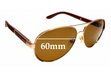 Sunglass Fix Sunglass Replacement Lenses for Marc By Marc Jacobs MMJ 378/S - 60mm Wide
