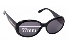 Sunglass Fix Sunglass Replacement Lenses for Marc by Marc Jacobs MMJ 156/S - 57mm Wide