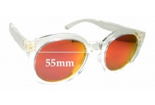 Sunglass Fix Sunglass Replacement Lenses for Marc Lloyd Venus - 55mm Wide