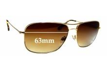 Sunglass Fix Sunglass Replacement Lenses for Maui Jim Breezeway MJ773 - 63mm Wide