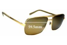 Sunglass Fix Sunglass Replacement Lenses for Maui Jim Compass MJ714 - 59mm Wide