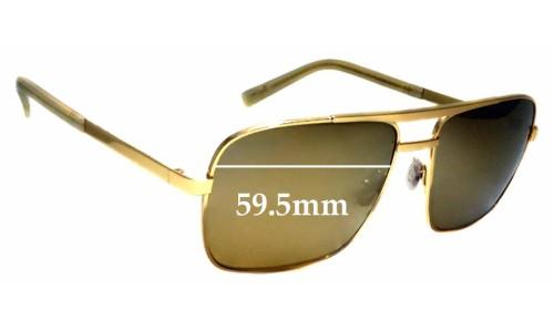 Sunglass Fix Sunglass Replacement Lenses for Maui Jim Compass MJ714 - 59.5mm wide