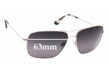 Sunglass Fix Sunglass Replacement Lenses for Maui Jim MJ774 Cook Pines - 63mm Wide