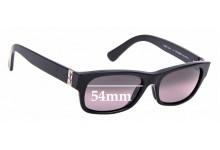 Sunglass Fix Sunglass Replacement Lenses for Maui Jim MJ242 Dive Deep - 54mm Wide