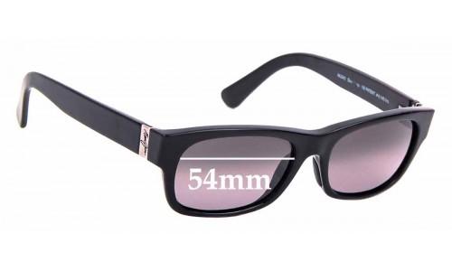 Sunglass Fix Sunglass Replacement Lenses for Maui Jim Dive Deep MJ242 -54mm wide