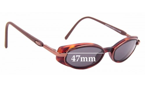 Sunglass Fix Sunglass Replacement Lenses for Maui Jim MJ124 Hana - 47mm Wide