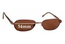 Sunglass Fix Sunglass Replacement Lenses for Maui Jim Hilo MJ133 - 54mm Wide