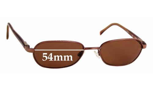 Sunglass Fix Sunglass Replacement Lenses for Maui Jim Hilo MJ133 - 54mm Wide