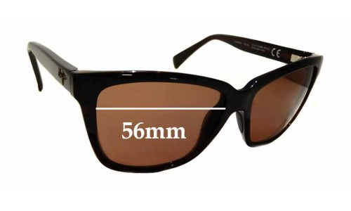 Sunglass Fix Sunglass Replacement Lenses for Maui Jim Jacaranda MJ763 - 56mm wide