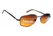 Sunglass Fix Sunglass Replacement Lenses for Maui Jim Kohala MJ711 - 54mm Wide