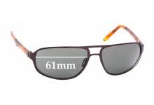 Sunglass Fix Sunglass Replacement Lenses for Maui Jim MJ232 Lahainaluna - 61mm Wide