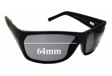 Sunglass Fix Sunglass Replacement Lenses for Maui Jim MJ265 Waimea Canyon - 64mm Wide