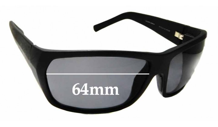 SFX Replacement Sunglass Lenses fits Electric Velveteen 64MM Wide