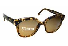 Sunglass Fix Sunglass Replacement Lenses for Maui Jim Honey Girl MJ751 - 51mm Wide