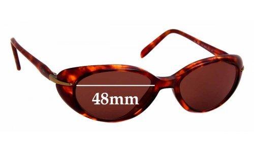 Sunglass Fix Sunglass Replacement Lenses for Maui Jim MJ147 Cabana - 48mm wide