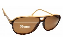 Sunglass Fix Sunglass Replacement Lenses for Maui Jim Dawn Patrol MJ223 - 56mm Wide