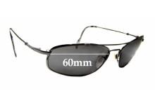 Sunglass Fix Sunglass Replacement Lenses for Maui Jim MJ303 Big Island - 60mm Wide