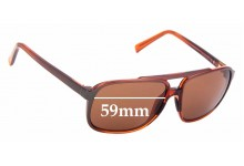 Sunglass Fix Sunglass Replacement Lenses for Maui Jim MJ701 Silversword - 59mm Wide