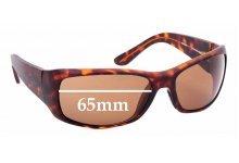 Sunglass Fix Sunglass Replacement Lenses for Maui Jim MJ268 Third Bay - 65mm Wide