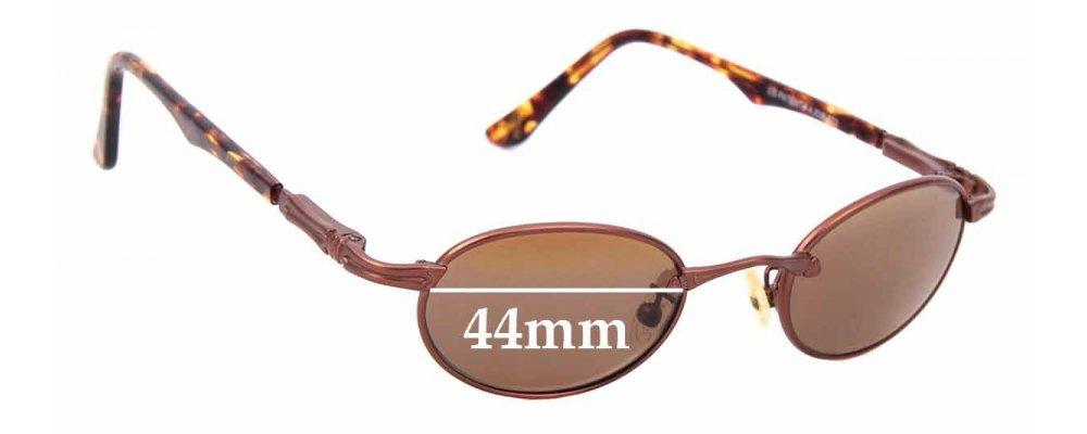 Sunglass Fix Sunglass Replacement Lenses for Maui Jim MJ143 Tiny Bubbles - 44mm Wide