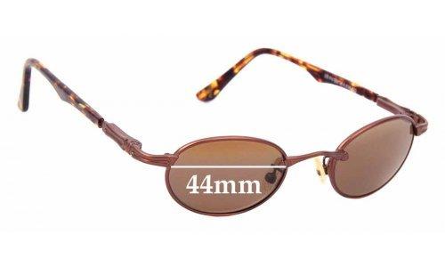 Sunglass Fix Sunglass Replacement Lenses for Maui Jim Tiny Bubbles MJ143 - 44mm wide