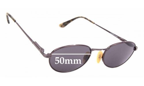 Sunglass Fix Sunglass Replacement Lenses for Maui Jim MJ164 Trade Wind - 50mm Wide