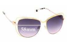 Sunglass Fix Sunglass Replacement Lenses for Michael Kors MK1013 Audrina - 58mm Wide