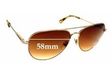 Sunglass Fix Sunglass Replacement Lenses for Michael Kors MKS144 - 58mm Wide