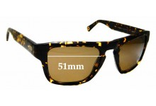 Sunglass Fix Sunglass Replacement Lenses for Mosley Tribes Stafford MT6031-S - 51mm Wide