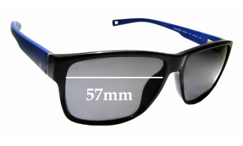 Sunglass Fix Sunglass Replacement Lenses for Nautica N6203S - 57mm Wide