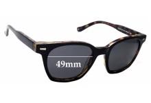 Sunglass Fix Sunglass Replacement Lenses for Neville & Lewis NL004 - 49mm Wide