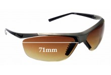 Sunglass Fix Sunglass Replacement Lenses for Nike Impel EV0479 - 71mm Wide
