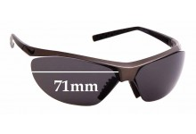 Sunglass Fix Sunglass Replacement Lenses for Nike Impel Swift EV0476 - 71mm Wide