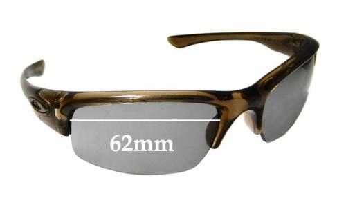 Sunglass Fix Sunglass Replacement Lenses for Oakley Bottlecap - 62mm Wide