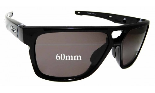 Sunglass Fix Sunglass Replacement Lenses for Oakley Crossrange Patch OO9382 - 60mm Wide x 47mm Tall