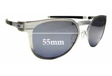 Sunglass Fix Sunglass Replacement Lenses for Oakley Diecutter OO4137 - 55mm Wide