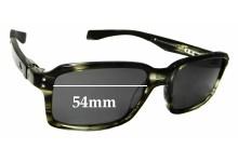 Sunglass Fix Sunglass Replacement Lenses for Oakley Fat Cat OX1041 - 54mm Wide