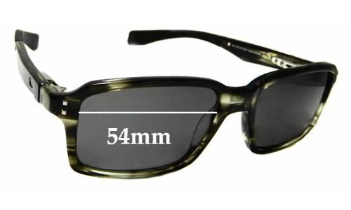 Sunglass Fix Sunglass Replacement Lenses for Oakley Fat Cat - 54mm wide