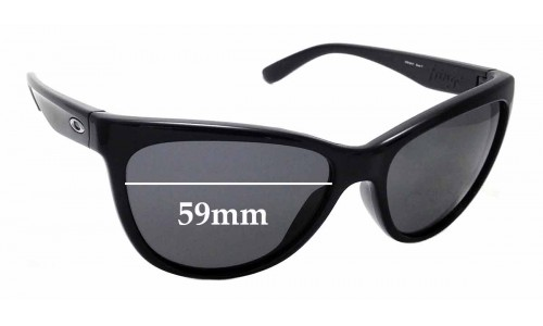 Sunglass Fix Sunglass Replacement Lenses for Oakley Fringe OO9124 - 59mm Wide