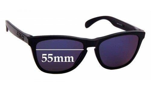 Sunglass Fix Sunglass Replacement Lenses for Oakley Frogskins Gen. 3 - 55mm Wide