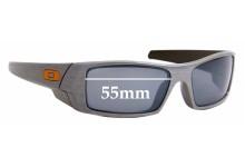 Sunglass Fix Sunglass Replacement Lenses for Oakley Gascan - 55mm Wide