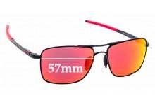 Sunglass Fix Sunglass Replacement Lenses for Oakley Gauge 6 OO6038 - 57mm
