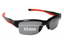 Sunglass Fix Sunglass Replacement Lenses for Oakley Halflink OO9251 - 61mm Wide