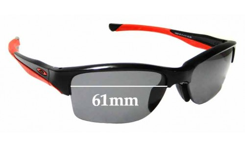 Sunglass Fix Sunglass Replacement Lenses for Oakley Halflink OO9251 - 61mm Wide