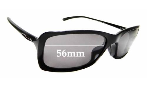 Sunglass Fix Sunglass Replacement Lenses for Oakley Hall Pass OO9203 - 56mm Wide