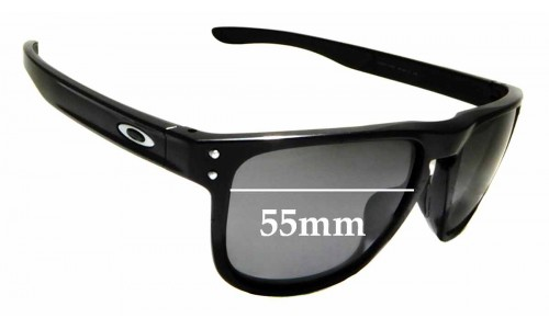 Sunglass Fix Sunglass Replacement Lenses for Oakley Holbrook R OO9377 - 55mm Wide