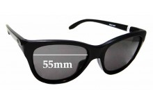 Sunglass Fix Sunglass Replacement Lenses for Oakley Hold Out OO9357 - 55mm Wide