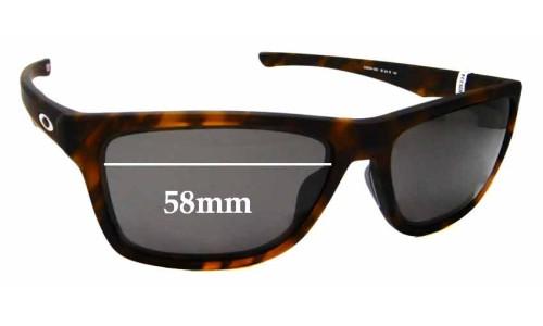 Sunglass Fix Sunglass Replacement Lenses for Oakley Holston OO9334 - 58mm wide