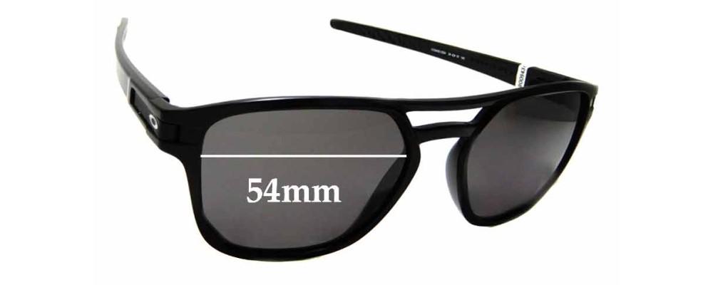 Sunglass Fix Sunglass Replacement Lenses for Oakley Latch Beta OO9436 - 54mm Wide